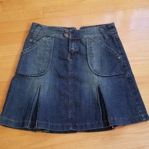 Baccini Denim skirt